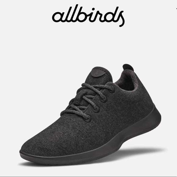 77c357f516b allbirds Other - New Allbirds Mens Wool Runners Natural Black